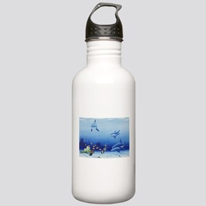 Dolphin Friends Stainless Water Bottle 1.0L