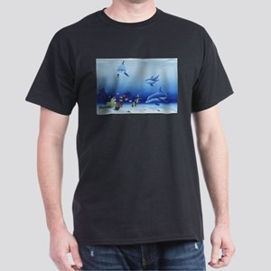 Dolphin Friends Dark T-Shirt