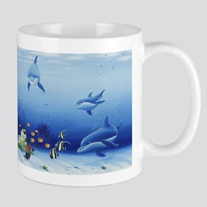 Dolphin Friends Mug