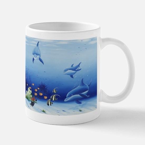 Dolphin Friends Mug