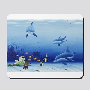 Dolphin Friends Mousepad