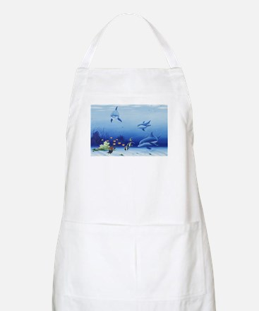 Dolphin Friends Apron