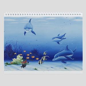 Dolphin Friends Wall Calendar