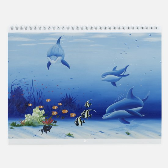 Dolphin Friends Wall Calendar