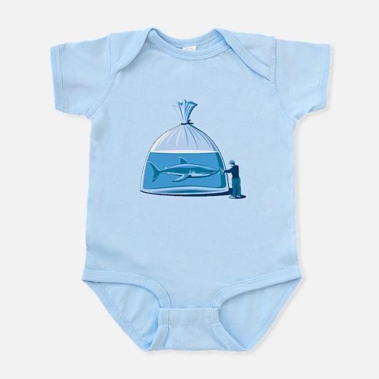 Shark in a Bag Infant Bodysuit
