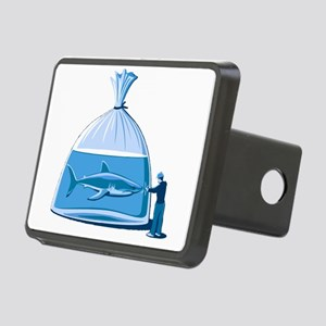 Shark in a Bag Rectangular Hitch Cover