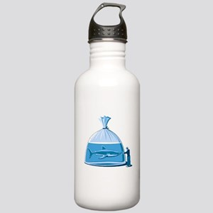 Shark in a Bag Stainless Water Bottle 1.0L