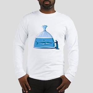 Shark in a Bag Long Sleeve T-Shirt