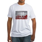 WTC Skyline Sketch Fitted T-Shirt