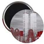 WTC Skyline Sketch Magnet