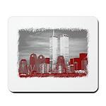 WTC Skyline Sketch Mousepad