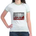 WTC Skyline Sketch Jr. Ringer T-Shirt