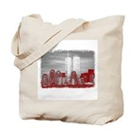 WTC Skyline Sketch Tote Bag