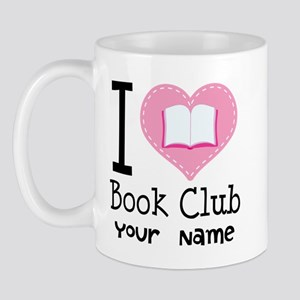 Personalized Book Club Mug