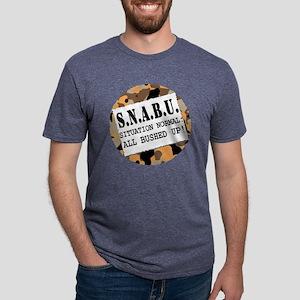 SNABU Mens Tri-blend T-Shirt