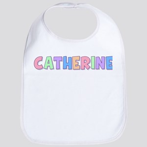 Catherine Rainbow Pastel Bib