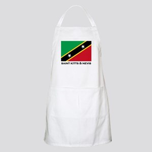 Saint Kitts & Nevis Flag Stuff BBQ Apron