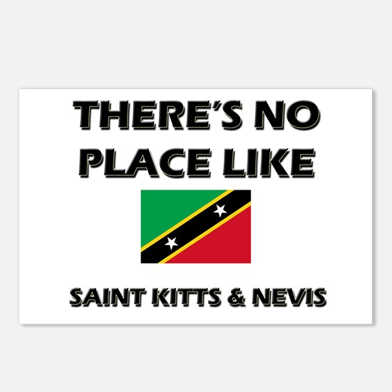 There Is No Place Like Saint Kitts & Nevis Postcar