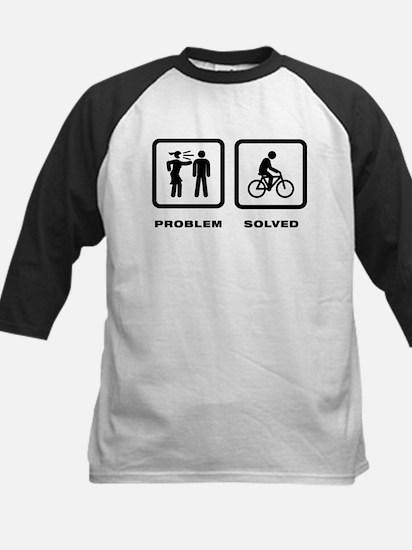 Bicycle Riding Kids Baseball Jersey