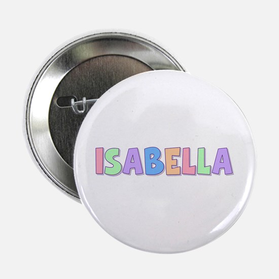 Isabella Rainbow Pastel Button