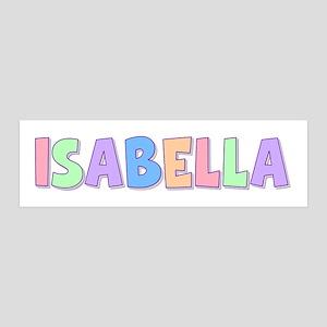 Isabella Name Wall Art Cafepress