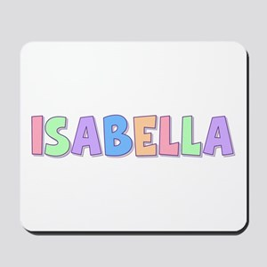 Isabella Rainbow Pastel Mousepad