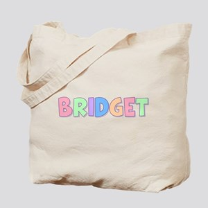 Bridget Rainbow Pastel Tote Bag