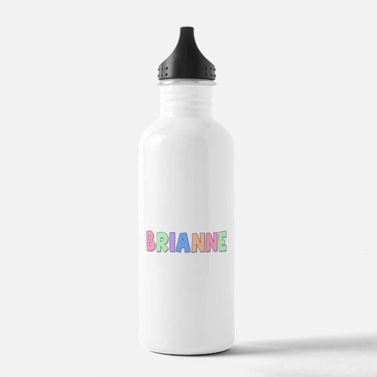 Brianne Rainbow Pastel Water Bottle