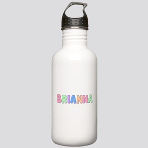 Brianna Rainbow Pastel Stainless Water Bottle 1.0L