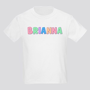 Brianna Rainbow Pastel Kids Light T-Shirt