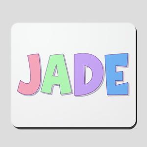 Jade Rainbow Pastel Mousepad