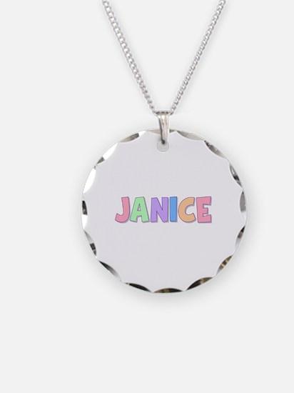 Janice Rainbow Pastel Necklace