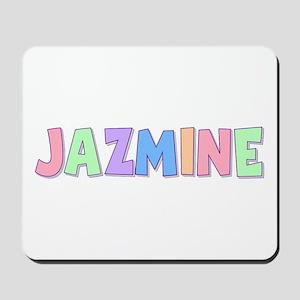 Jazmine Rainbow Pastel Mousepad