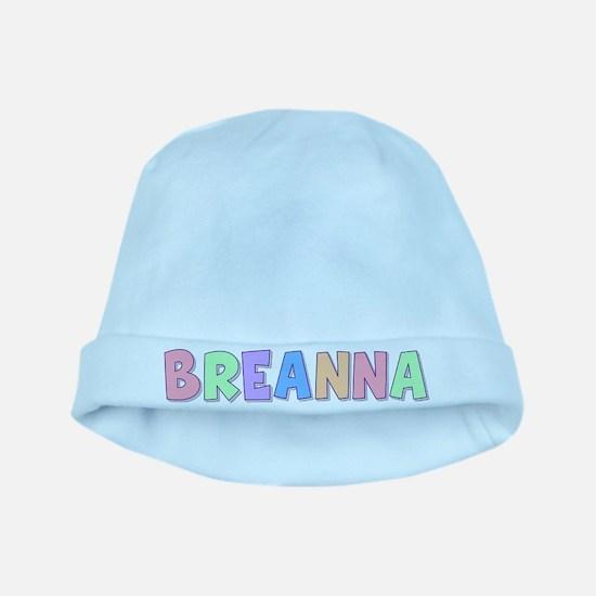 Breanna Rainbow Pastel baby hat