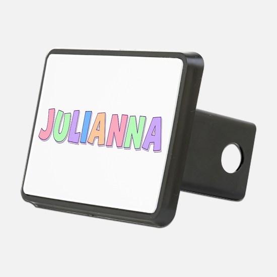 Julianna Rainbow Pastel Hitch Cover