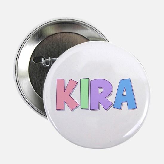 Kira Rainbow Pastel Button