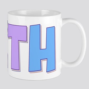 Beth Rainbow Pastel Mug