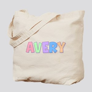 Avery Rainbow Pastel Tote Bag