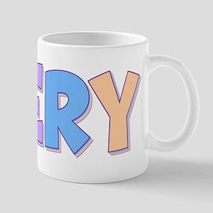 Avery Rainbow Pastel Mug
