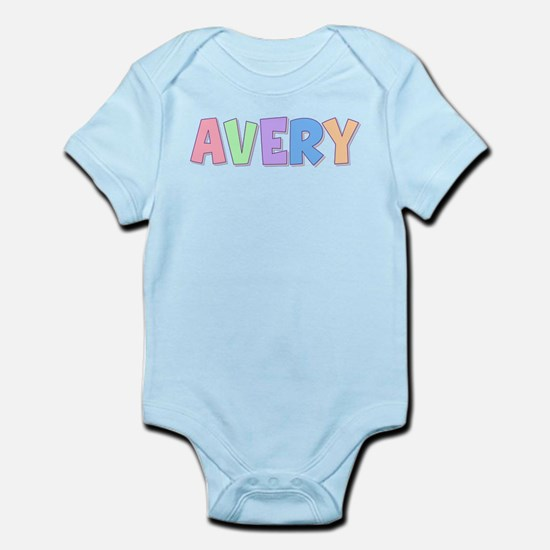 Avery Rainbow Pastel Infant Bodysuit