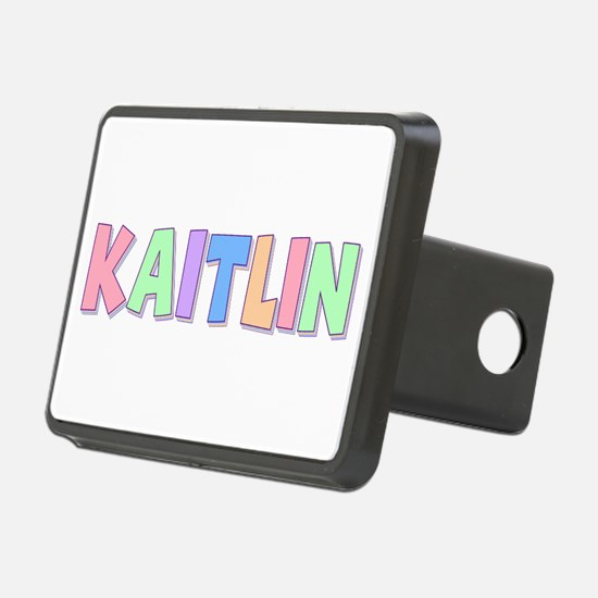 Kaitlin Rainbow Pastel Hitch Cover