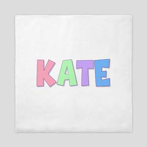 Kate Rainbow Pastel Queen Duvet
