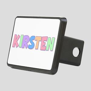 Kirsten Rainbow Pastel Rectangular Hitch Cover