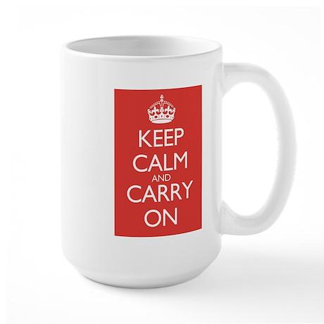 Keep Calm and Carry On Double Sided Mug Design Mug