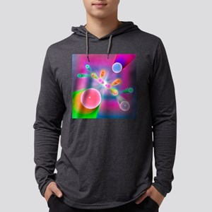 Supersymmetric particle producti Mens Hooded Shirt