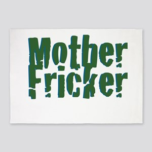 Mother Fricker 5'x7'Area Rug