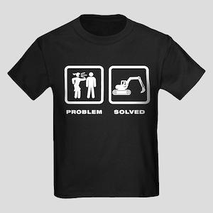 Excavating Kids Dark T-Shirt