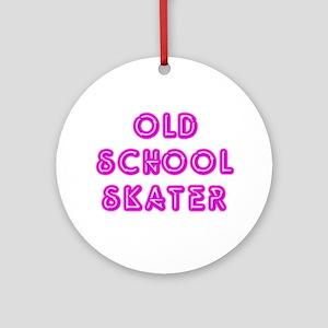 Old School Skater Ornament (Round)