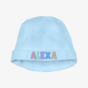 Alexa Rainbow Pastel baby hat