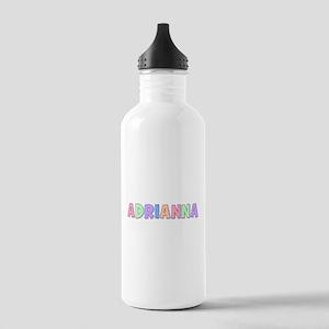 Adrianna Rainbow Pastel Stainless Water Bottle 1.0